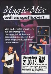Bild: Poster Magic Mix (21.03.15)