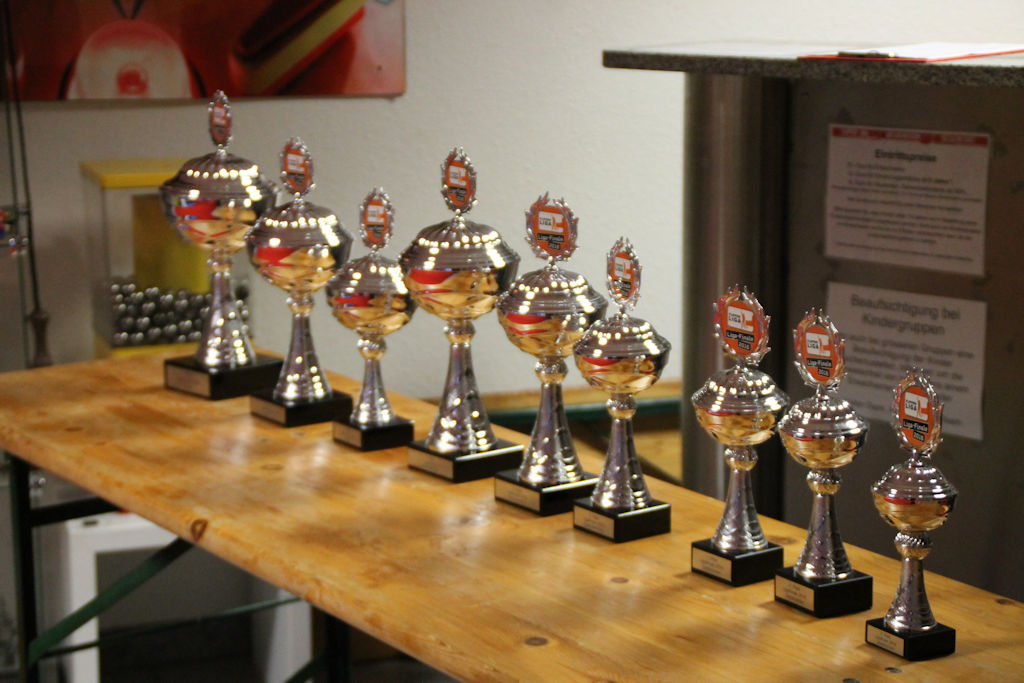 Bild: Pokale als Auszeichnung für die besten der besten